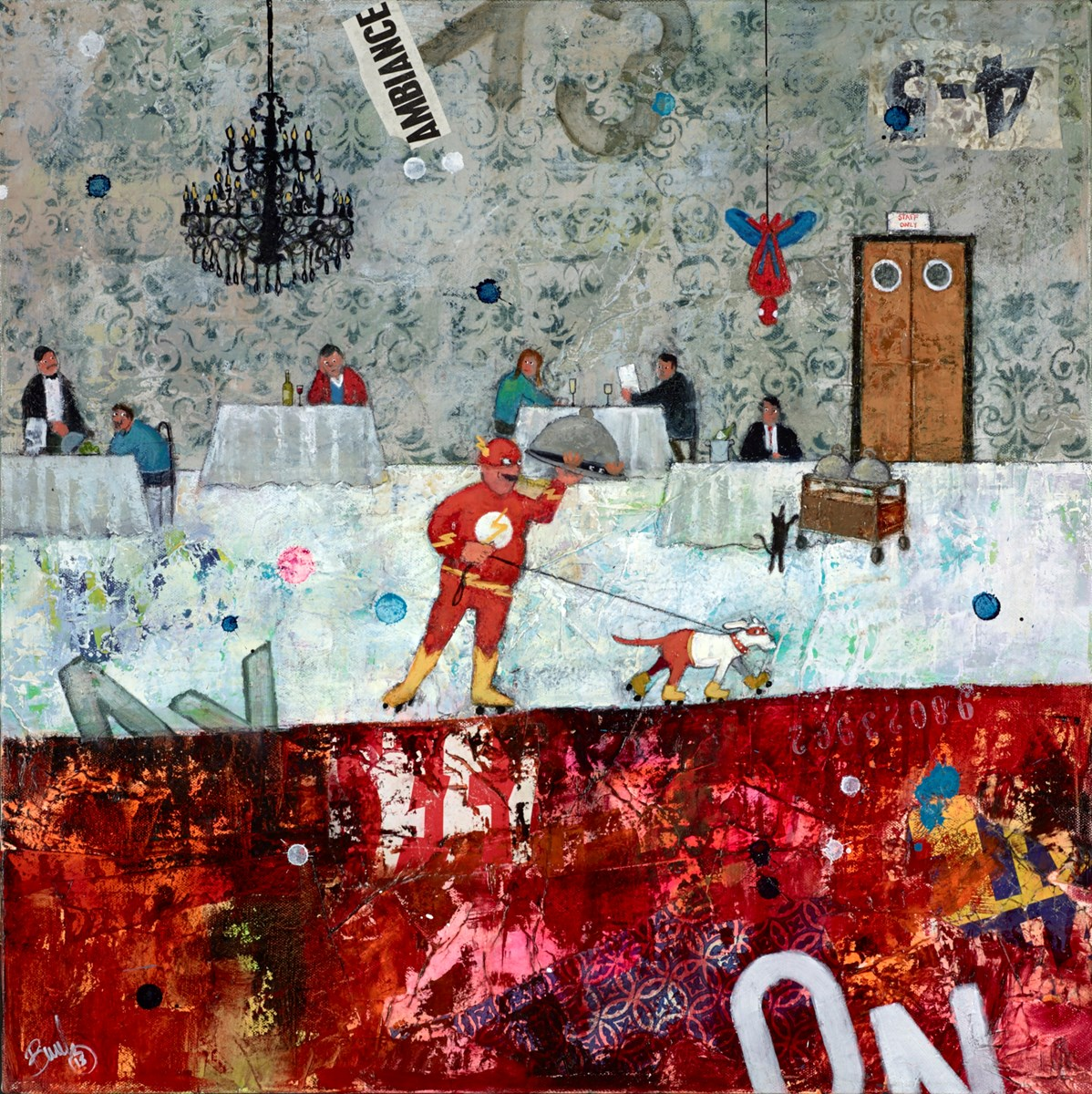 Ambiance by richard burel -  sized 24x24 inches. Available from Whitewall Galleries